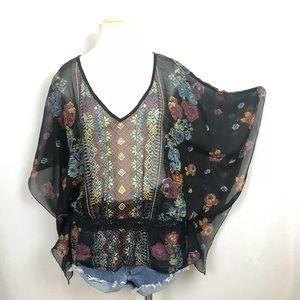 ANGIE Boho Kimono  Blouse / Top